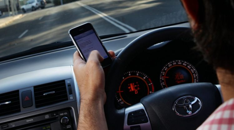 The new camera technology detects drivers using their phones.