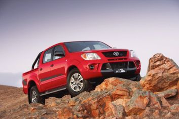 The Toyota TRD HiLux Ute SMH DRIVE (NO CAPTION INFORMATION PROVIDED)