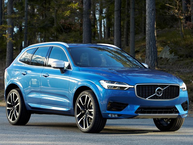 Volvo Reveals New XC60 At Geneva Motor Show