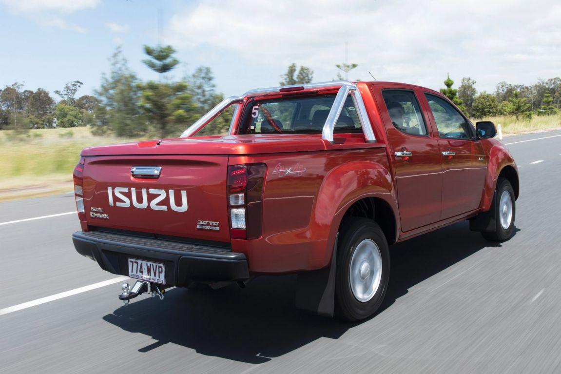 2017 Isuzu D-Max.