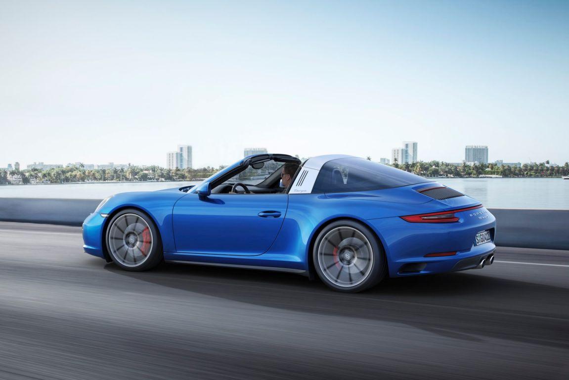 2017 Porsche 911 Targa 4S.