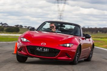 2016 Drive Car of the Year Best Convertible contender: Mazda MX-5 1.5 GT.