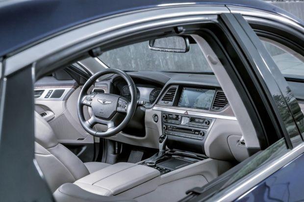 Geared to comfort: Hyundai's Genesis sedan.