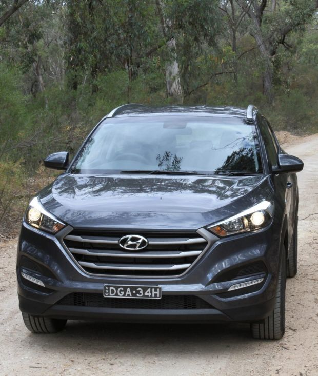Drive's Hyundai Tucson long-term test car.