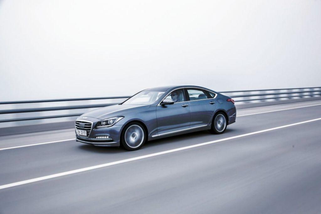 Quiet running: Hyundai's Genesis sedan is set to bring value to the luxury segment.