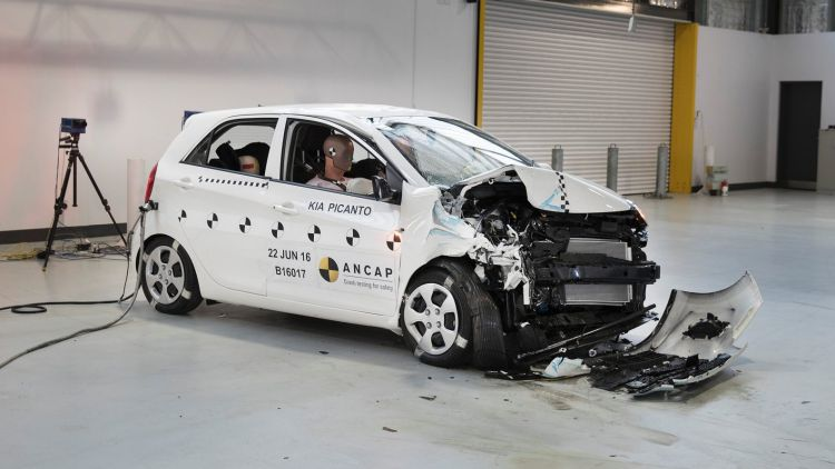 Car companies rush crash testing ahead of stricter requirements