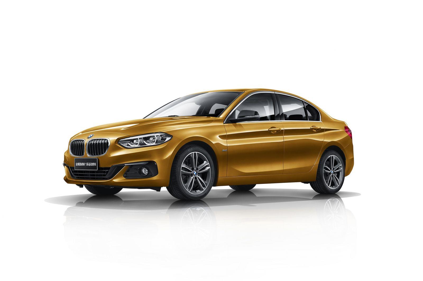 BMW Debuts All-New 1 Series Sedan For China