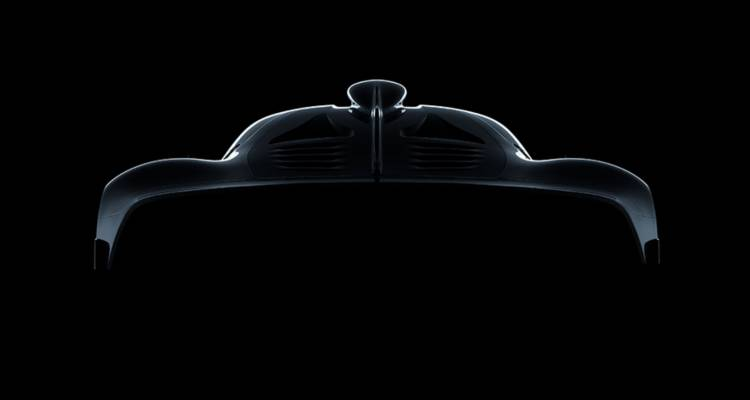 2017 Mercedes-AMG Project One Teaser