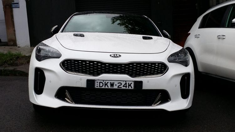 Spotted: Kia Stinger GT in Sydney