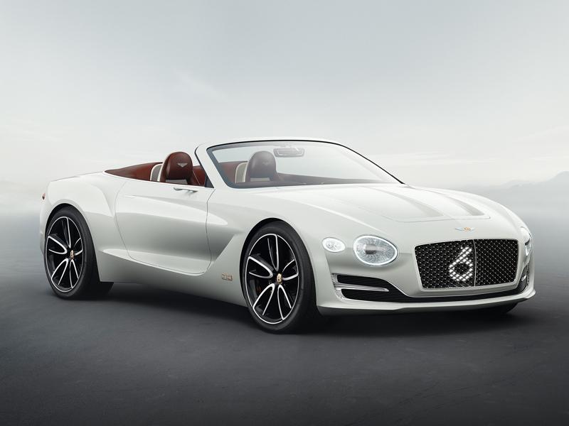 Bentley Debuts New Electric Sports Car At Geneva