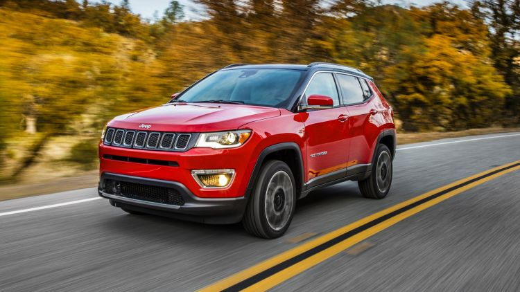 All-new 2017 Jeep Compass Limited.