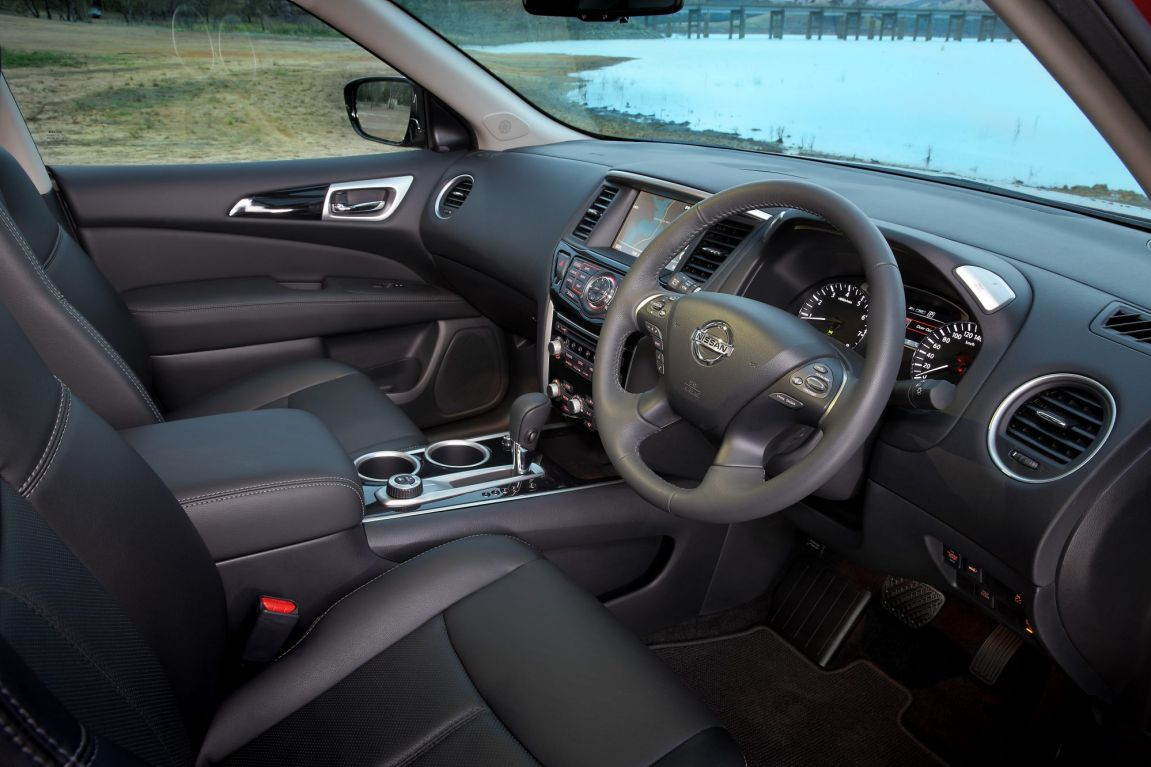 2017 Nissan Pathfinder.