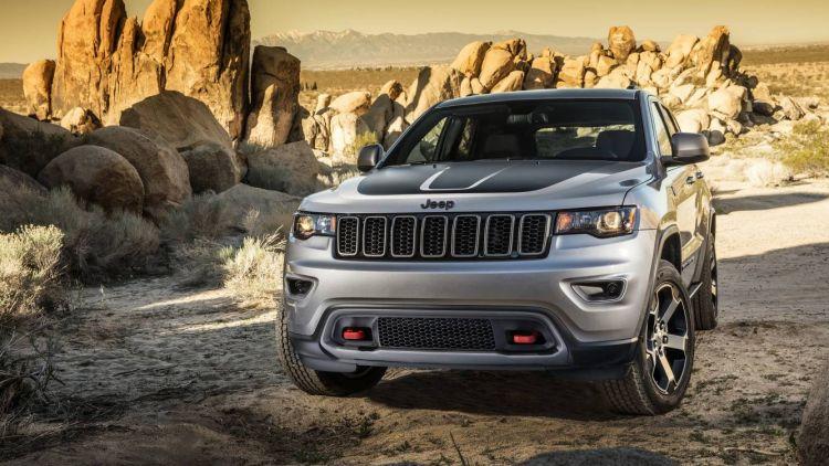 2017 Jeep Grand Cherokee Trailhawk.