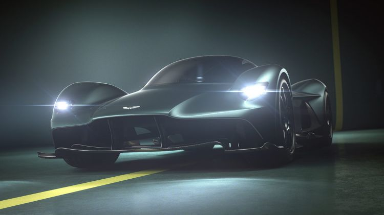 The Aston Martin Valkyrie hypercar will serve as the starting point for a new range of mid-engine sports cars for the brand.