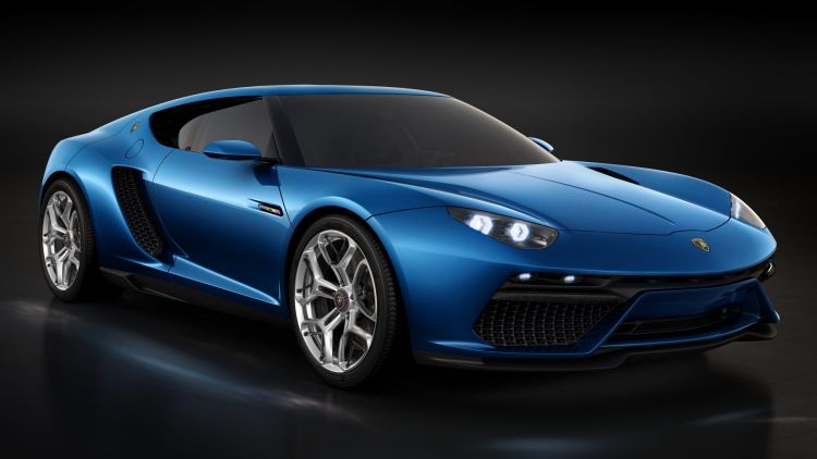 The four-seat coupe could borrow the styling from the Lamborghini Asterion concept.