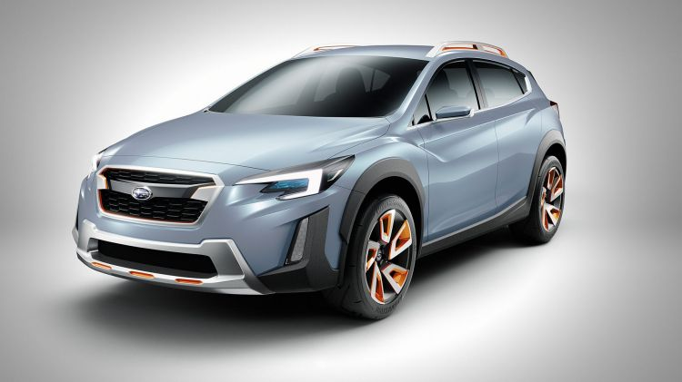 2016 Subaru XV concept previews the second-generation hatch due to be revealed at the 2017 Geneva motor show.