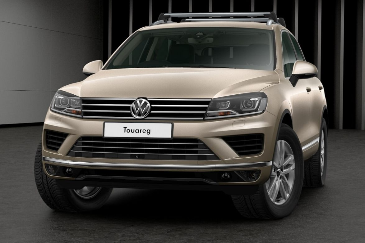 2017 Volkswagen Touareg Adventure.