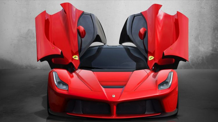Ferrari LaFerrari for Life & Leisure motoring column by Tony Davis. October 21. Photo: supplied by manufacturer .