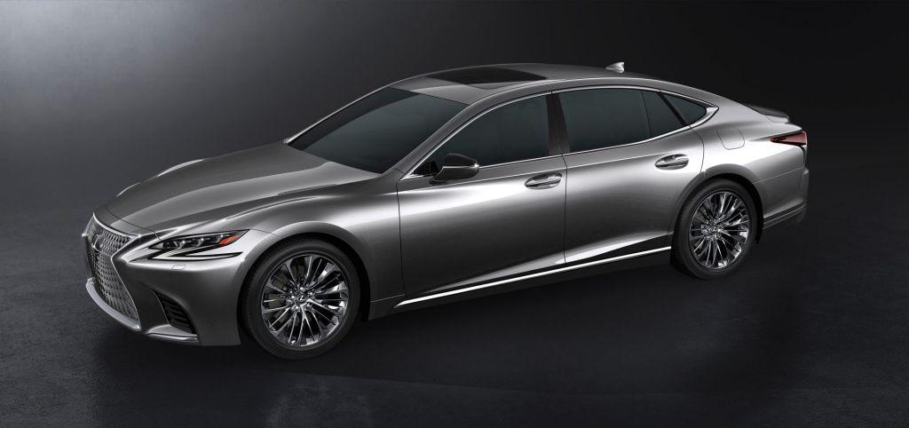 2018 Lexus LS.