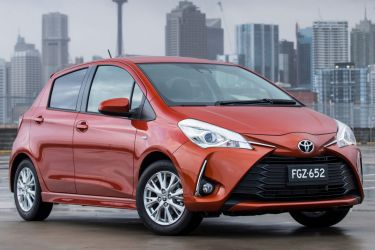 New looks, safety tech for updated Toyota Yaris