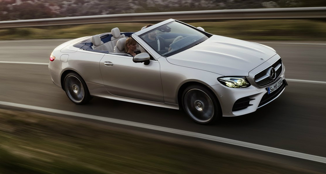 2017 Mercedes-Benz E-Class Cabriolet Revealed