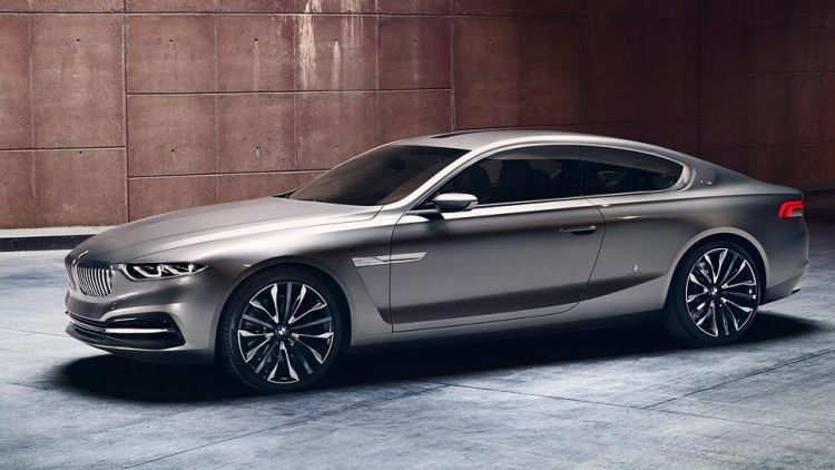 The BMW Pininfarina Gran Lusso Coupe concept that teased a new 8-Series back in 2013.