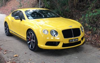 The 2014 Bentley Continental V8 S