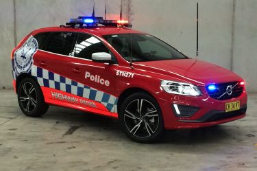 Police gear up with Volvo, Toyota