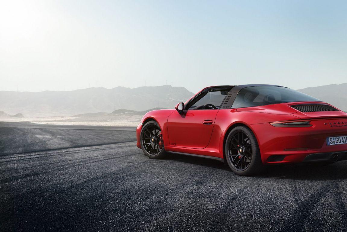 2017 Porsche 911 GTS Targa.