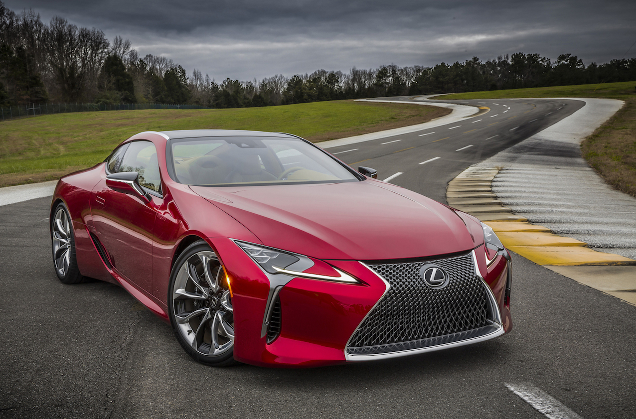 2017 Lexus LC 500 First Drive REVIEW - Stunning Looks With A Soaring Soundtrack And A Feel-Good Factor