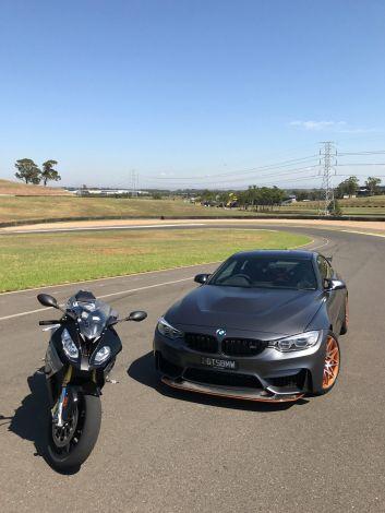 Car v Bike: 2017 BMW M4 GTS v BMW S1000RR.
