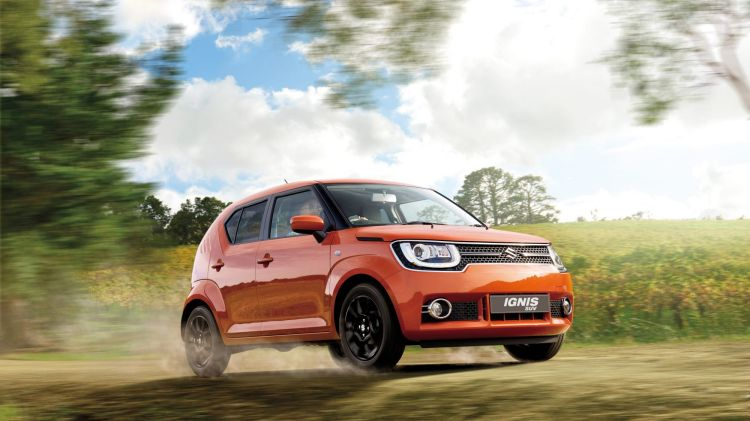 Suzuki focused on style when creating the new Ignis hatch.
