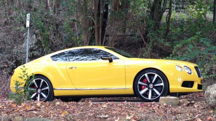 Bentley Continental GT V8 S.