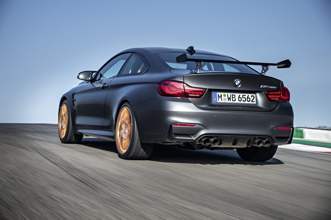 BMW has revealed the production version of its new hard core M4 GTS.