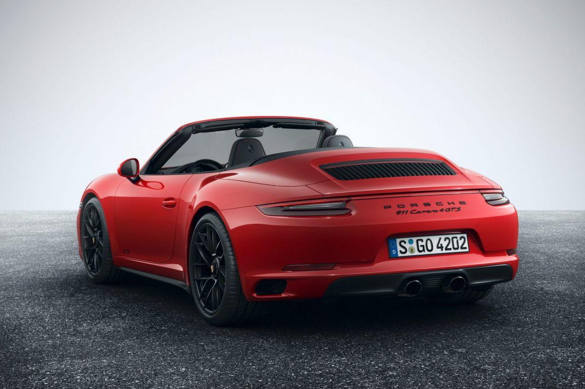 2017 Porsche 911 GTS Cabriolet.