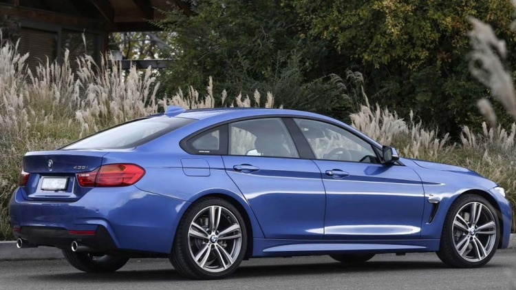 BMW 435i Gran Coupe.