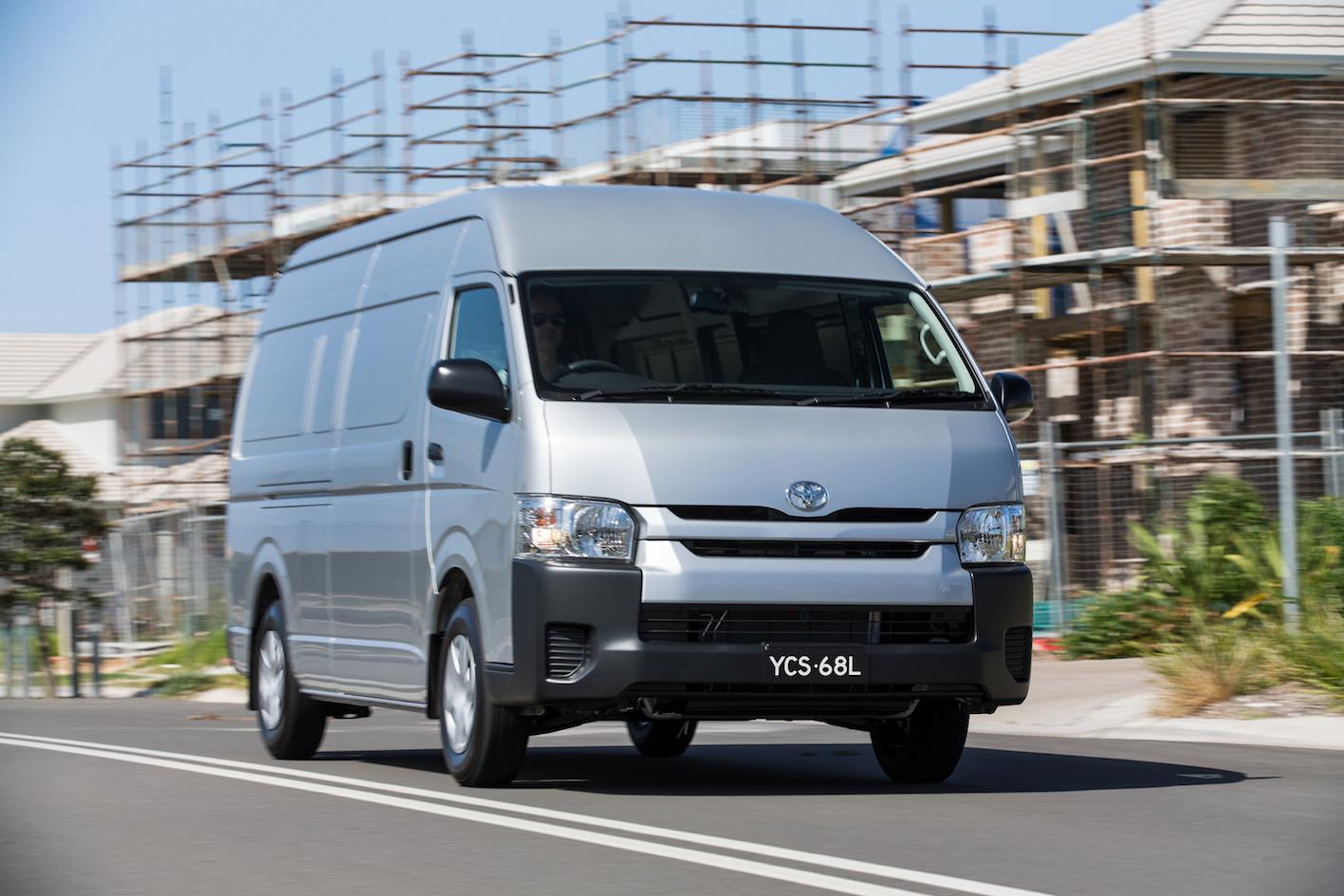 Toyota HiAce Recalled For Rear Door Rectification