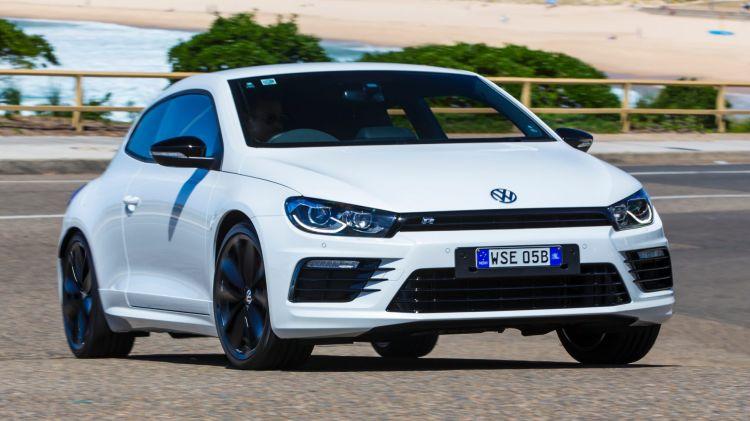 2016 Volkswagen Scirocco R Wolfsburg edition.