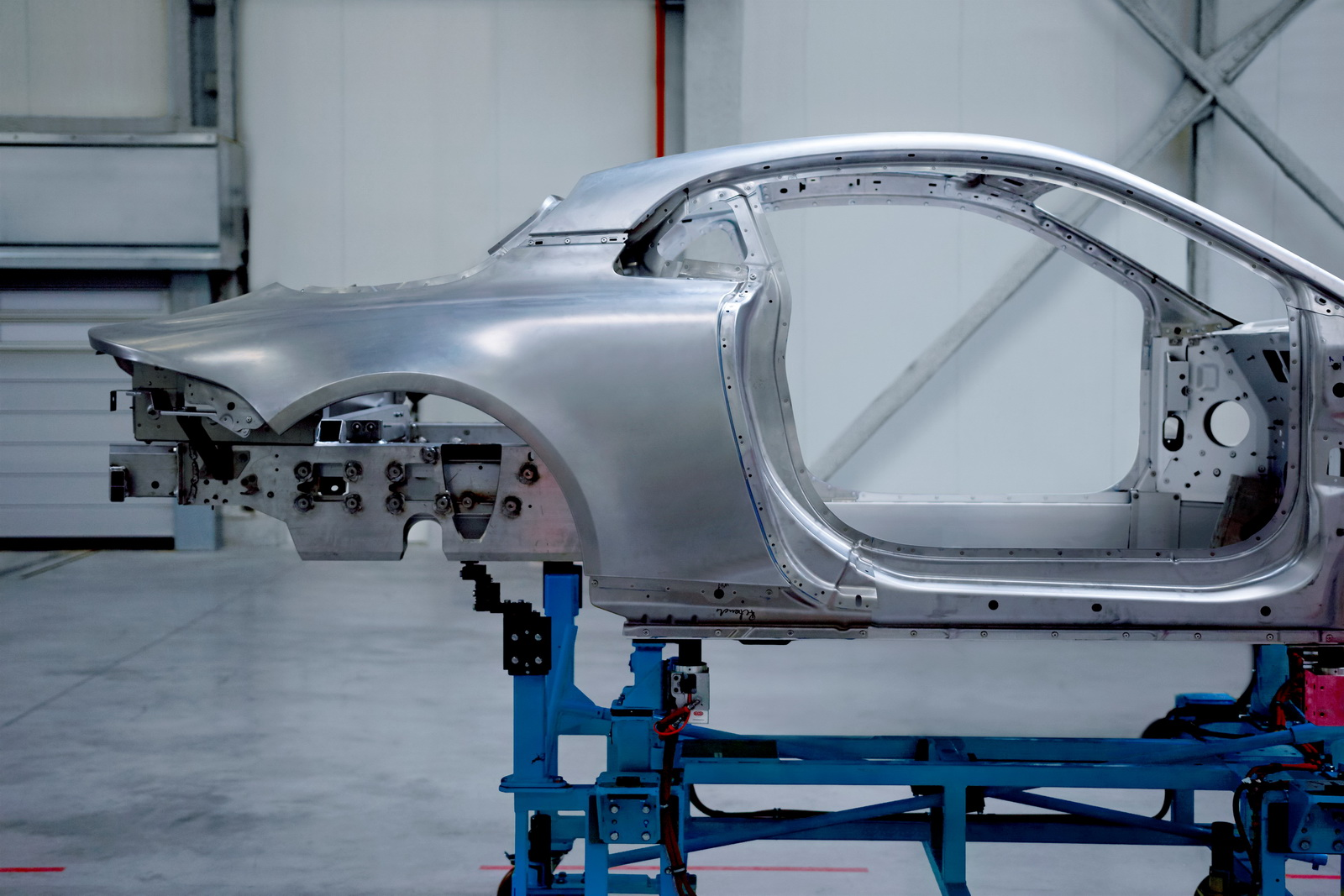 Alpine Teases All-Aluminium Architecture For A120 Coupe