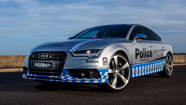 Audi has loaned an S7 to the NSW Police Force.