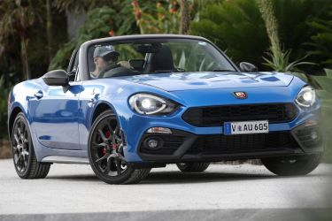Life and Leisure Abarth 124 Spider for Tony Davis Column