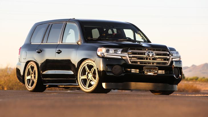 Toyota USA Gives LandCruiser The SEMA Treatment