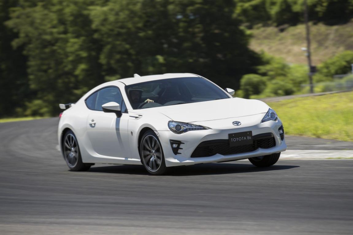 Updated Toyota 86.
