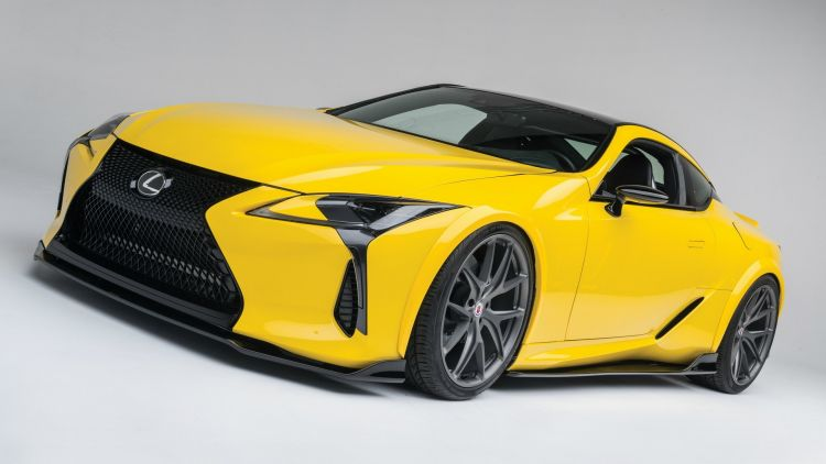 Lexus supported a high-power LC 500 for the SEMA motor show.