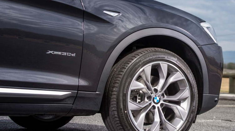 BMW's controversial coupe-styled X4 SUV.