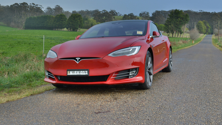 Tesla Model S Now Available To Rent At Thrifty - But Only In Canberra...