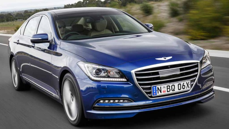 Hyundai Genesis Ultimate sits at the top of the range and has the Europeans in its sights.