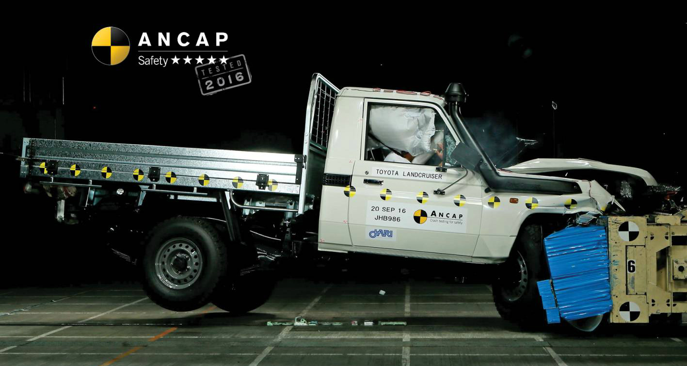 Toyota LandCruiser 70 Series Now Rated 5-Stars By ANCAP - Also Toyota Prius