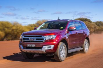 Outback Comparison: Ford Everest Trend.