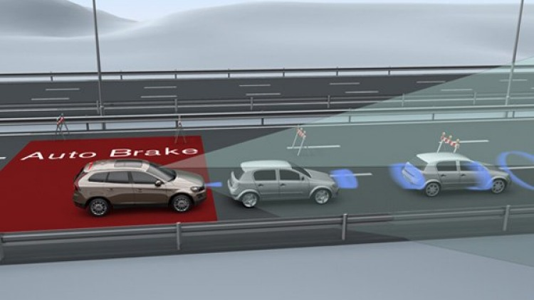 New Volvo technology protects pedestrians